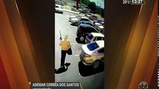 Ladrões roubam malotes de dinheiro em mercado de Canoas