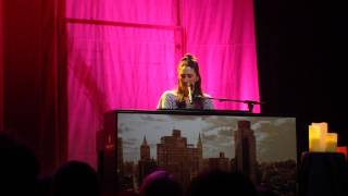 Sara Bareilles - Undertow @ Park West, Chicago - Brave Enough Tour (6)