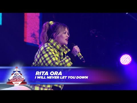 Rita Ora  'I Will Never Let You Down'   At Capital's Jingle Bell Ball 2017