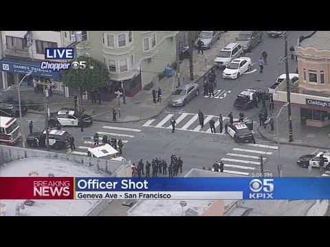 Police Officer Shot In San Francisco