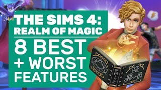 Sims 4 Realm Of Magic Review | 8 Best And Worst Features