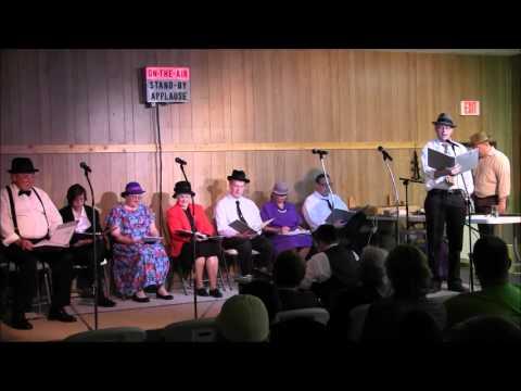 LeRoy Community Theater Old Time Radio Performance 2015