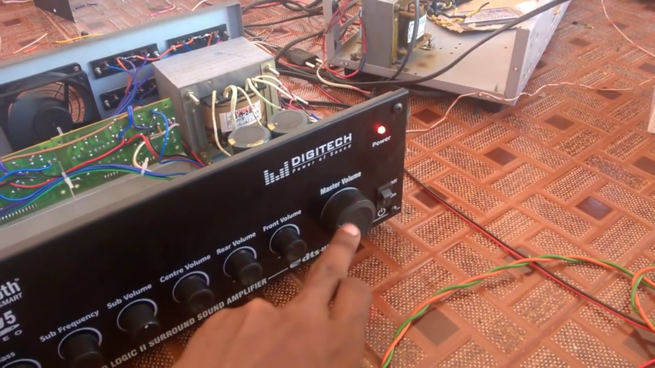Simple Prologic Board And Bluetooth Usb 51 Amplifier By Audios World La4440 Stereo D Mohankumar Audio