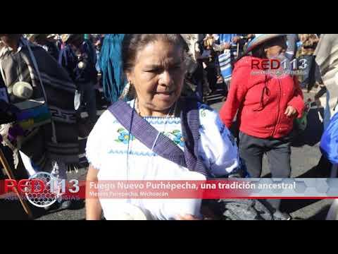 VIDEO Fuego Nuevo Purhépecha, una tradición ancestral