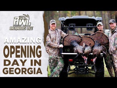 Amazing Opening Of Georgia Turkey Season