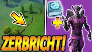 ⚠️NOW EARTHQUAKES - RISSE ON THE MAP! ⚠️🔥 DARK LOVERANGER CHALLENGE PACK😈 Fortnite Bataille Royale