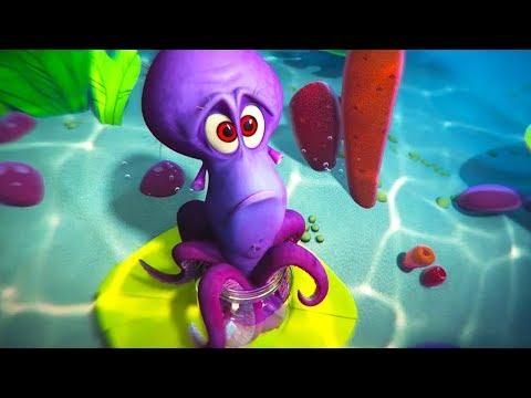 DreamWorks Madagascar | Dave's Back Story | Penguins of Madagascar Clip | Kids Movies
