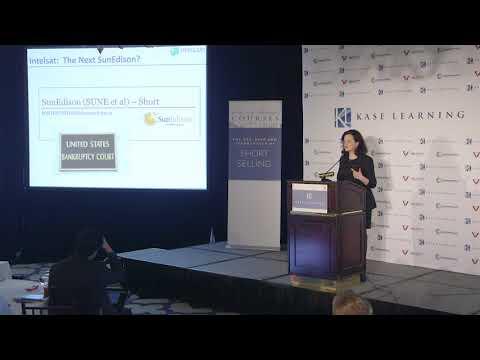 Jillian McIntyre's presentation on Intelsat at the Kase Learning conf on short selling, 5/3/18