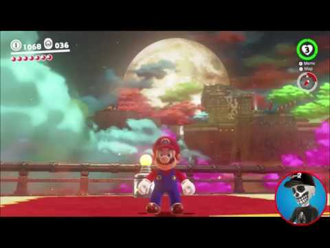 Super Mario Odyssey Guide Bowser S Kingdom Power Moon 07 Youtube