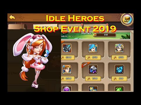 Idle Heroes Shop Event July 2019 - Aureolin Heartrate Gaming - Gaming with a Heart Monitor