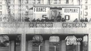 DiFilm - France vs Romania - Rugby FIRA Championship 1965