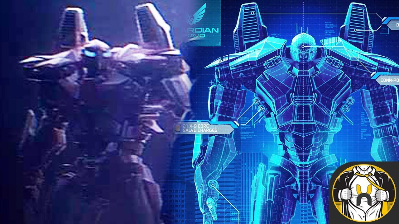 Guardian Bravo Mark VI Jaeger Explained | Pacific Rim: Uprising