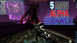 5 Man Alpha Rockwell | Small Tribes | ARK: Official PVP