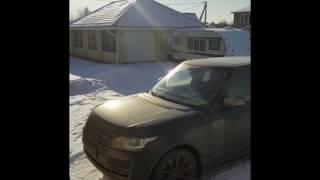 Недовольный владелец Range Rover-а