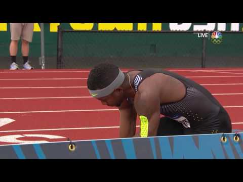 Thumbnail: Olympic Track And Field Trials | Clement, Robinson, Tinsley to Rio in 400m hurdles