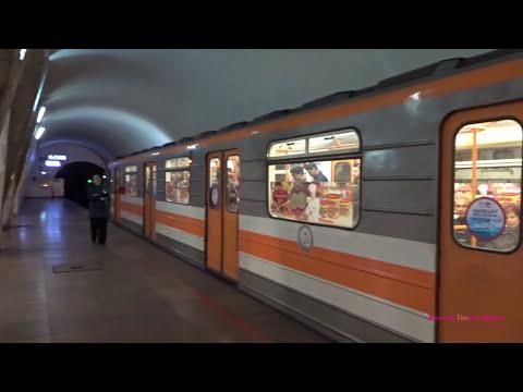 Երեւան քաղաքի մետրոպոլիտենի Метро в Ереване, Армения 2017