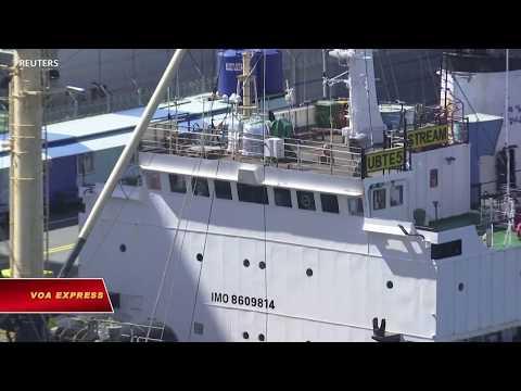 Tất cả tàu Nga cập cảng Hàn Quốc sẽ bị cách ly (VOA)