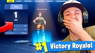 Ali-A REACTS to his 1st Victory Royale in Fortnite... (BIG NOOB!) thumbnail