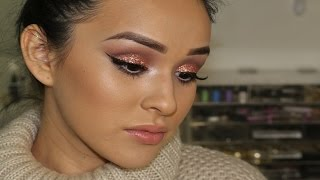 Maquillaje con Brillos |Serie Navideña| Thumbnail