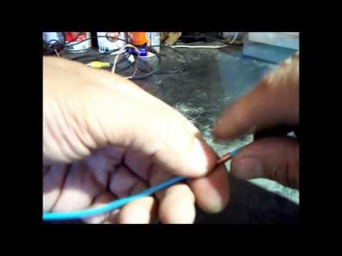 Como Hacer un Empalme de Cables Correctamente - How To Properly Wire Splice - HD