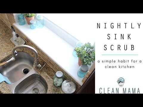 Nightly Sink Scrub | CLEAN MAMA
