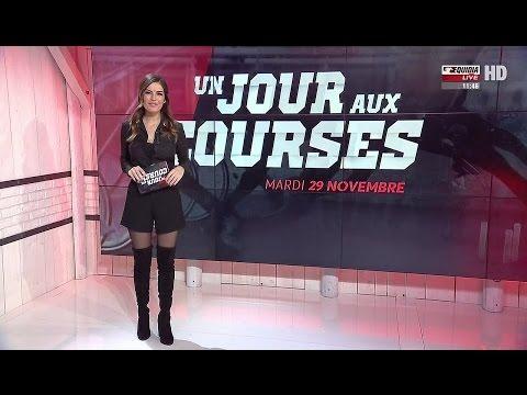 Amelie Bitoun French Presenter Overknees 29 11 2016