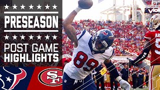 Texans vs. 49ers | Game Highlights | NFL