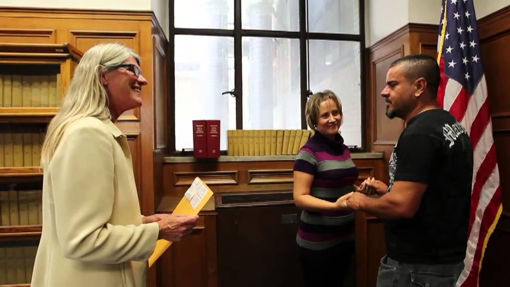 Marriage Vows At The Milwaukee County Courthouse