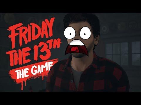 FUGINDO DO JASON DE CARRO - Friday The 13th The Game ( PS4 PRO )