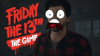 FUGINDO DO JASON DE CARRO - Friday The 13th The Game ( PS4 PRO )