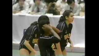 1987 World Junior Championship Women`s Volleyball Semi Japan vs Brazil