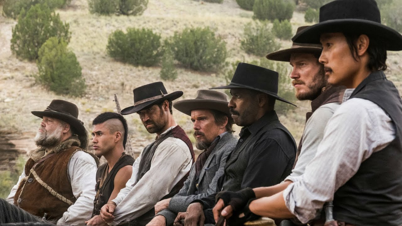 Image result for the magnificent seven 2016 wallpaper