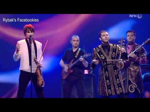 Eurovision 2012 in Baku. 2nd Semi-Final. Interval Act - The 5 winners Medley - 24.05.2012
