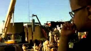 Royal Deluxe : El Xolo à Nantes // Au dodo... ( samedi 28 mai 2011 )