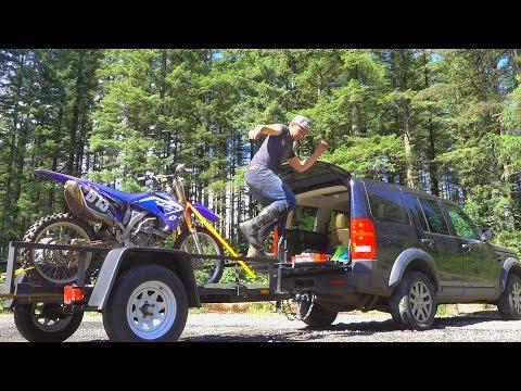 DAD'S FIRST DIRT BIKE RIDE! (Jones Creek Trail)