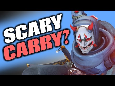 Overwatch: INSANE DEFLECT! The POWER Of Genji