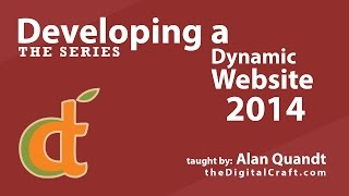 Developing a Dynamic Website 2014 - Part 1 - Intro to the Series