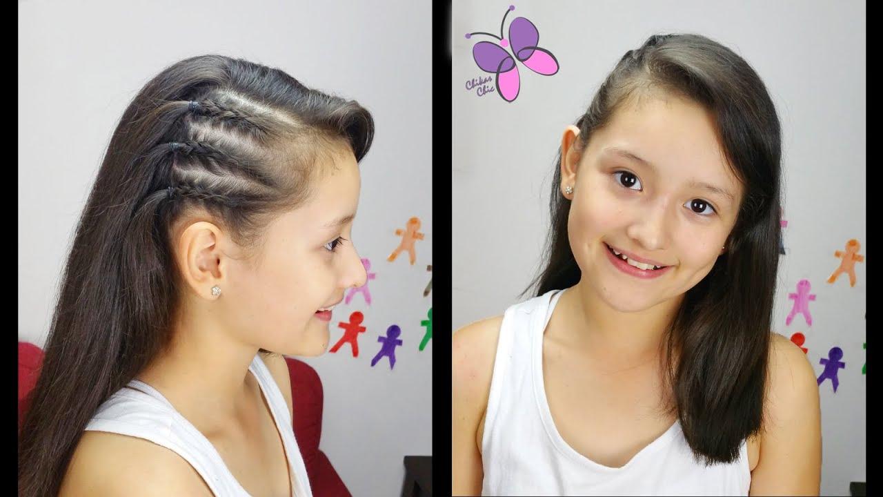 Trenzas Inspiradas En Las Celebridades Peinados Faciles Peinados - Peinados-con-trenzas-a-un-lado