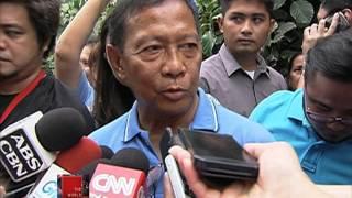 Binay attacks Duterte in campaign speech
