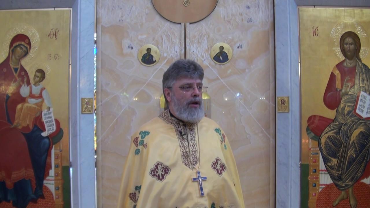 Слово перед причастием о. Григория Григорьева 28 июня 2020 г.