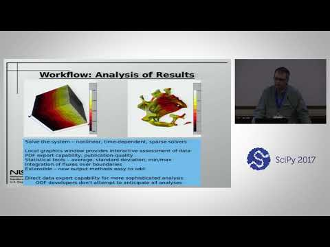 The OOF Finite Element Tool for Materials Science | SciPy 2017 | Andrew Reid