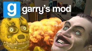ISSO AQUI TA UMA LOUCURA!! - GMOD (Garry