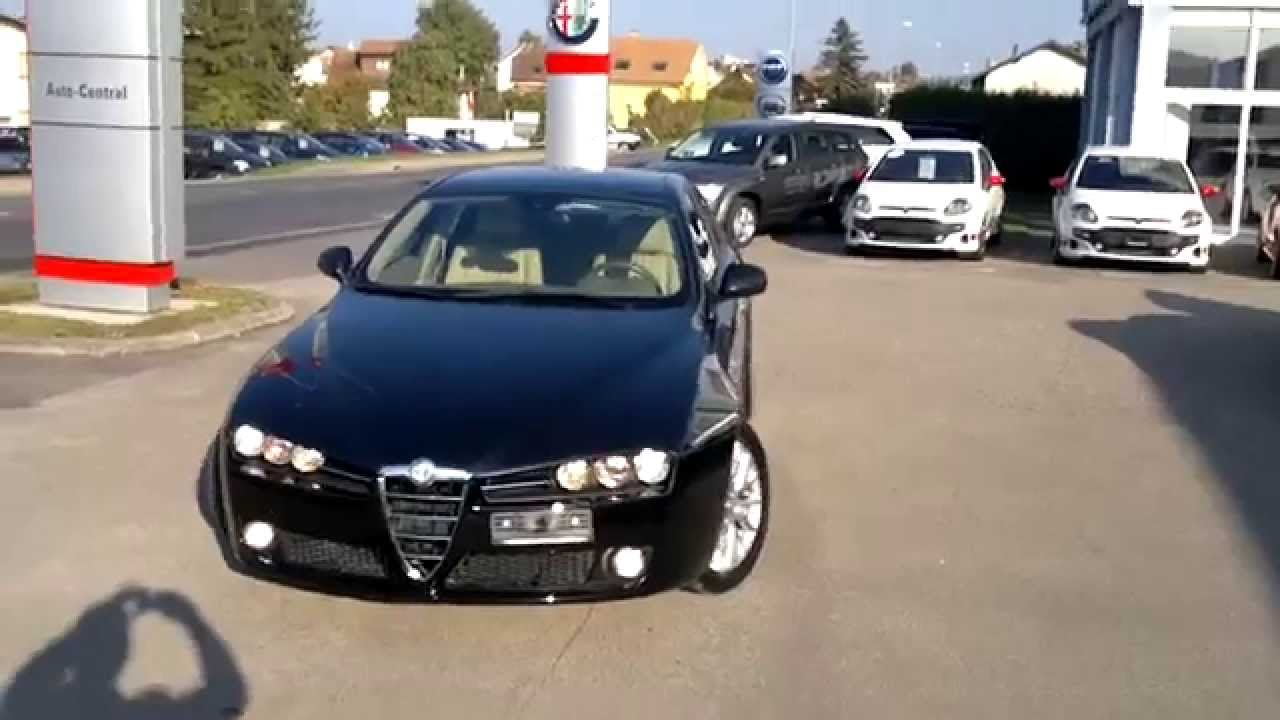 alfa romeo 159 2 4 jtdm 200 cv automatique youtube. Black Bedroom Furniture Sets. Home Design Ideas