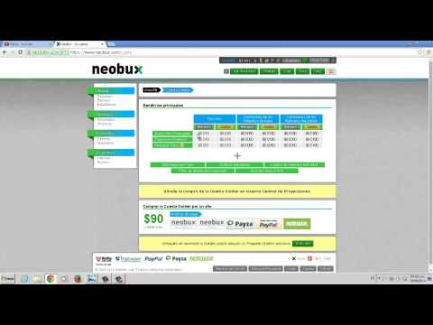 [TUTORIAL] - Neobux 2015 Como Ganar Dinero Por via Internet