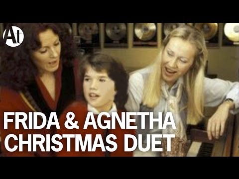 ABBA Agnetha & Frida Christmas Songs! Nu tändas tusen juleljus #rare #unreleased duet Happy New Year