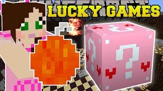 Minecraft: EPIC BOMBS EXPLOSIVE CHALLENGE GAMES - Lucky Block Mod - Modded Mini-Game