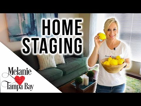 Home Staging FAST on a $200 Budget 🏠 Realtor Tips | MELANIE ❤️ TAMPA BAY