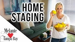Home Staging FAST on a $200 Budget  Realtor Tips | MELANIE  TAMPA BAY
