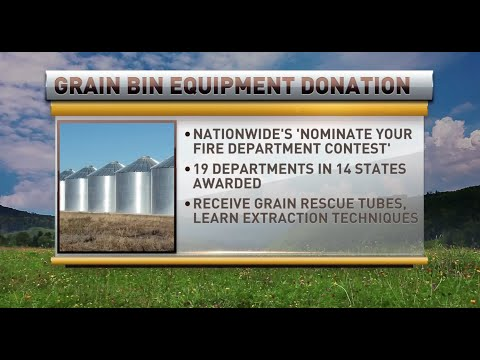Nationwide Grain Bin Safety Week & Donation