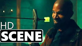 "ROBIN HOOD (2018) - ""Training"" Scene - Taron Egerton, Jamie Foxx Action Movie"